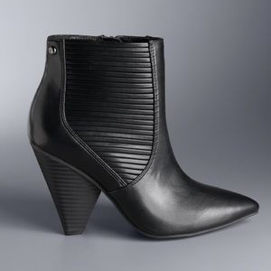 Simply Vera Gadwall High Heel Ankle Boots